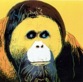 https://sarahsenvelope.files.wordpress.com/2009/11/warhol-endangered-species-orangutan-1983.jpg?w=300